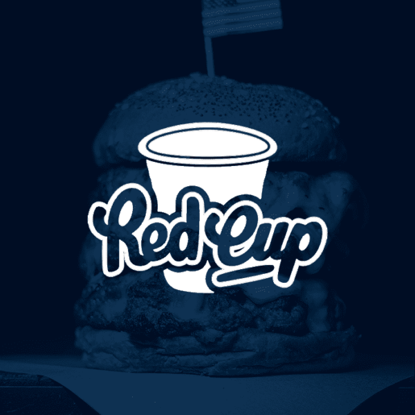 red cup burger club